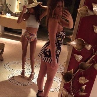 swimwear naya rivera celebrity style bikini top bikini bottoms