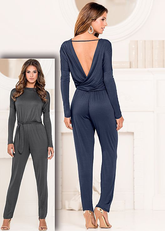 Sexy chica jumpsuit