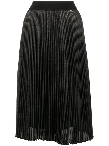 Twin-Set skirt pleated skirt pleated high women black