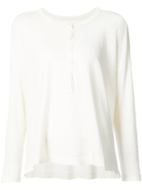 The Great top women white cotton