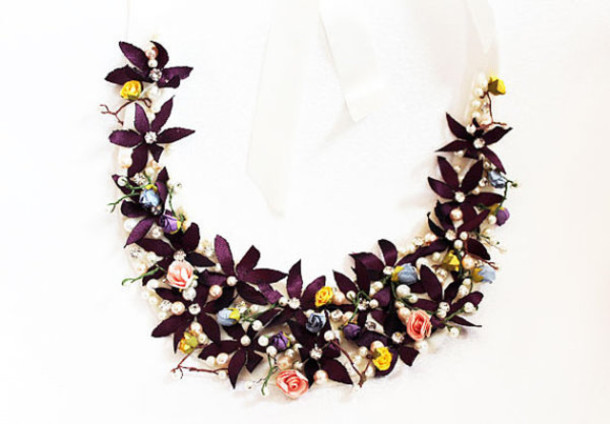 Jewels Handmade Wedding Jewelry Handmade Necklace Statement