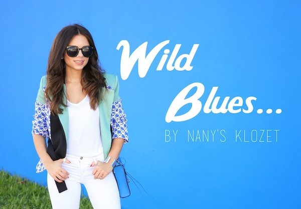nany's klozet jacket jeans shoes t-shirt sunglasses jewels bag
