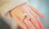 jewels,ring,rose,perles,gold,princess
