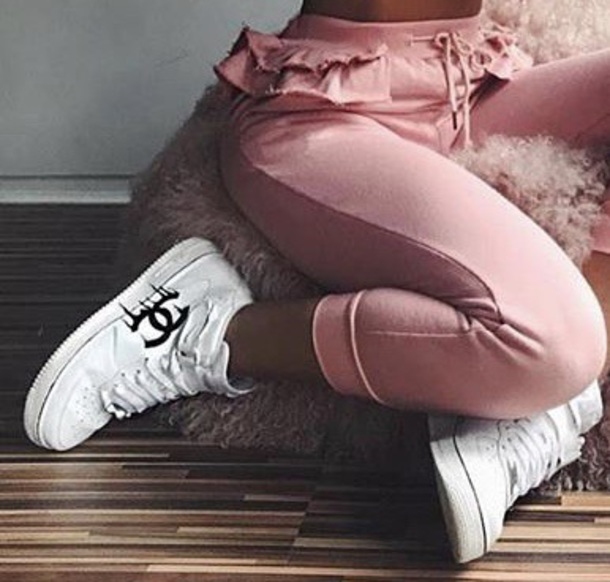 Shoes Chanel Dripping Chanel Sneakers Karl Vans White