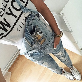 jeans overalls denim overalls