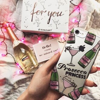 phone cover yeah bunny prosecco princess iphone cover iphone case