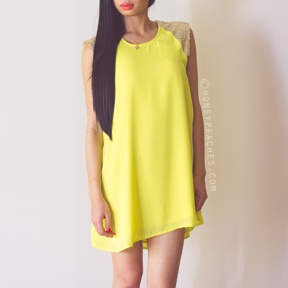 Be my sunshine dress – honey peaches