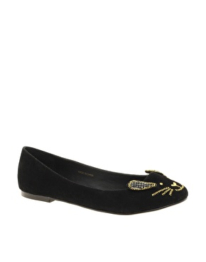Asos little miss ballet flats at asos