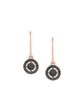 women earrings grey jewels