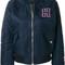 Tommy hilfiger - zipped bomber jacket - women - polyamide/polyester - s, blue, polyamide/polyester