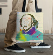 bag,famenxt,bookbag,a grocery bag,wedding,wedding gift bag,beach bag,women,gift set,bridesmaid tote bag,london,tote bags  Shakespeare,literature