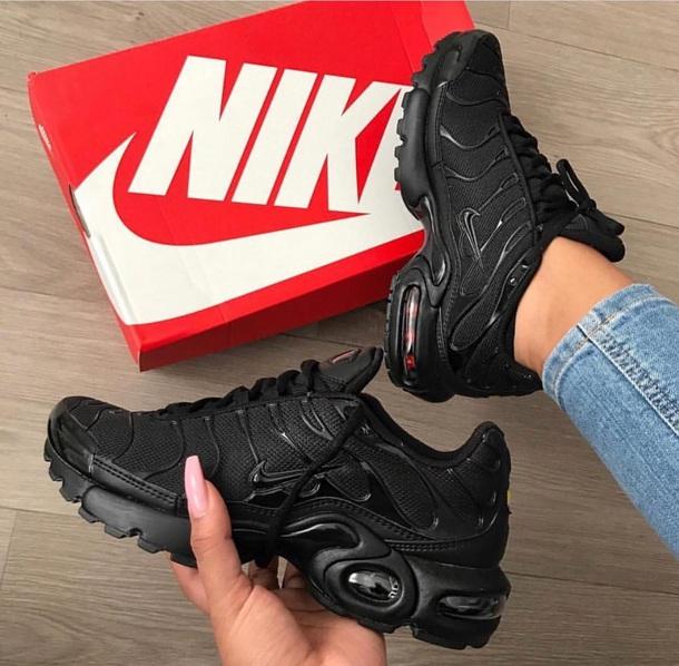 reputable site 55ffb 652bb shoes air max airmax plus black nike airmax plus to black