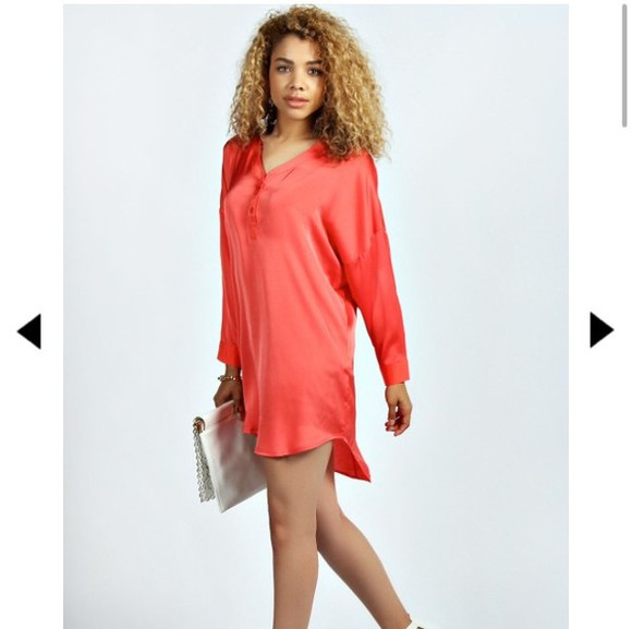 silk tshirt dress