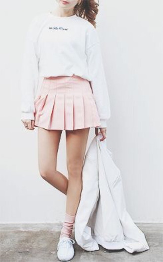Kawaii Tennis Skirt - Shop For Kawaii Tennis Skirt On Wheretoget