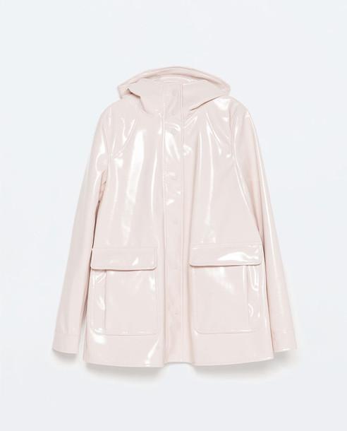 jacket clothes zara pink cute