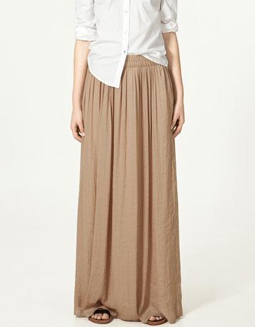 Maxi Brown Skirt Diane Kruger[4].jpg (image)