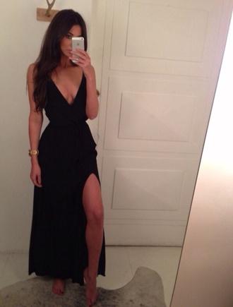 dress little black dress black prom dress black black maxi dress red lime sunday