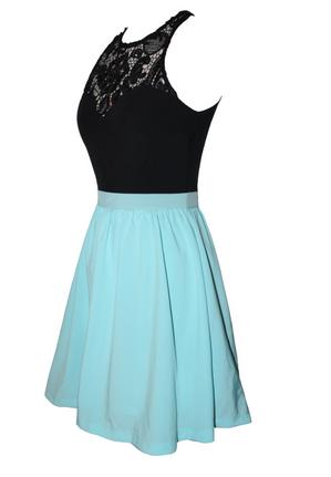 Gorgeous lace patchwork dress