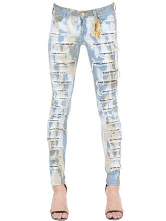 jeans denim blue beige
