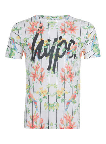 Hype floral baseball t