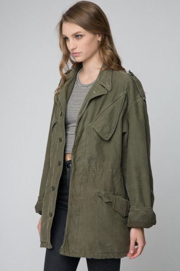 Brandy U2665 Melville | Paizley Military Jacket