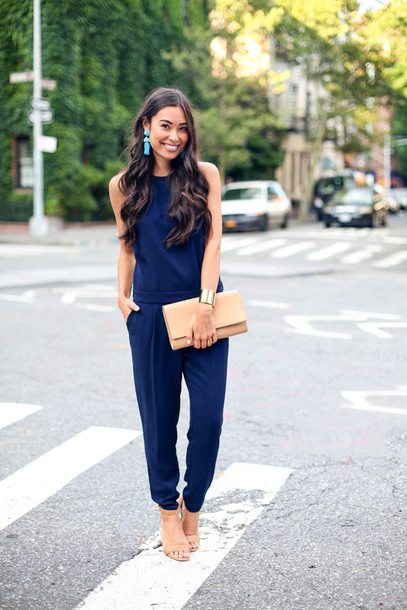 with love from kat jumpsuit jumpuit earrings jewels summer outfits classy blogger sandals high heels summer shoes beige shoes clutch pouch bracelets shoes bag