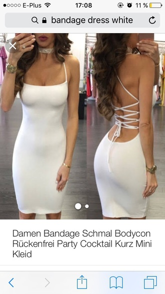 dress white dress bandage dress bodycon dress all white everything strappy backless white dress white little white dress strappy dress bodycon party dress sexy party dresses sexy sexy dress party outfits sexy outfit summer dress summer outfits spring dress spring outfits summer holidays pool party classy dress elegant dress cocktail dress date outfit birthday dress cute dress girly dress clubwear club dress graduation dress homecoming homecoming dress wedding clothes wedding guest engagement party dress prom prom dress short prom dress white prom dress romantic dress romantic summer dress