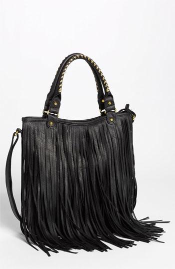 Faux Leather Fringe Hobo Bag | Nordstrom