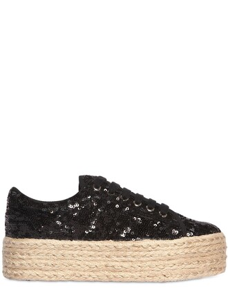 sneakers platform sneakers black shoes