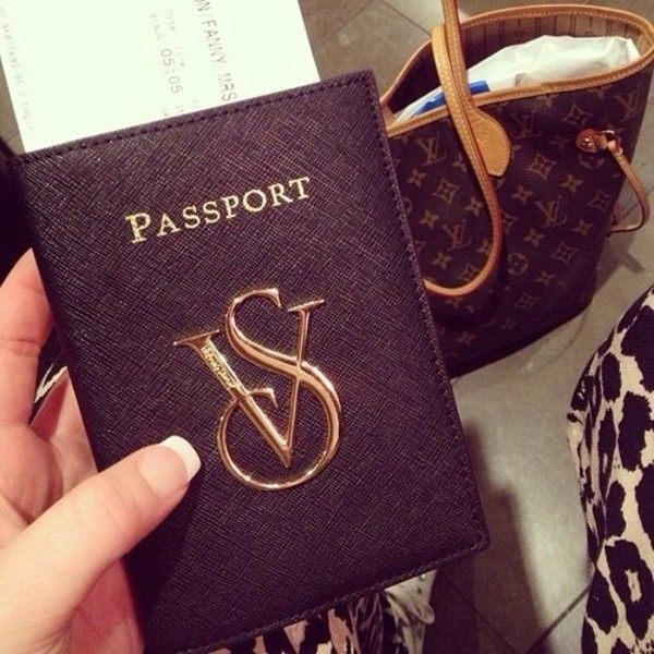 Connu Jewels: vs, passport cover - Wheretoget GS22