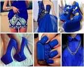 blouse,chain,navy,nail polish,heels,high heels,velvet,skirt,mini skirt,dress,maxi dress,blazer,bag,perfume
