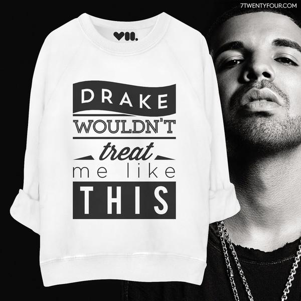 sweatshirt drake hip hop