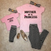 shirt,mother daughter shirt,mother and child