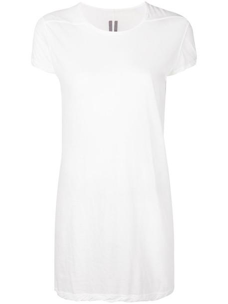 t-shirt shirt t-shirt long women white cotton top