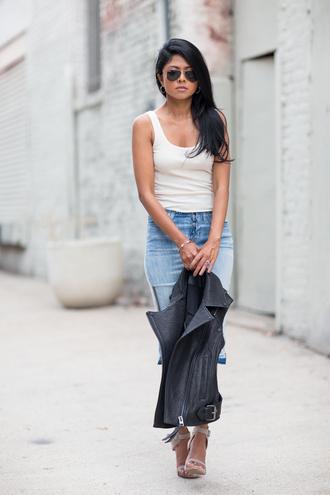 walk in wonderland jacket skirt jeans shoes jewels