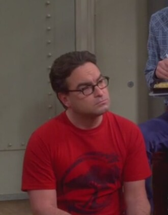 t-shirt leonard hofstadter johnny galecki big bang theory men t-shirts