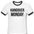 hangover monday shirt contrast style