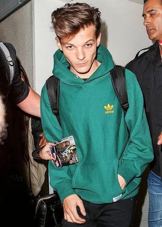 adidas green louis tomlinson menswear sweater