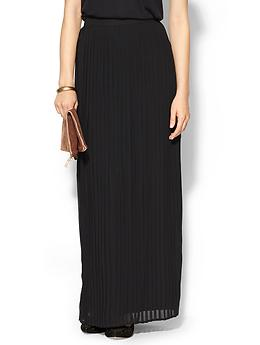 Sabine Pleated Maxi Skirt | Piperlime