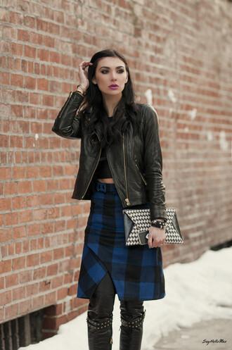 say hello max skirt t-shirt jacket bag shoes pants jewels