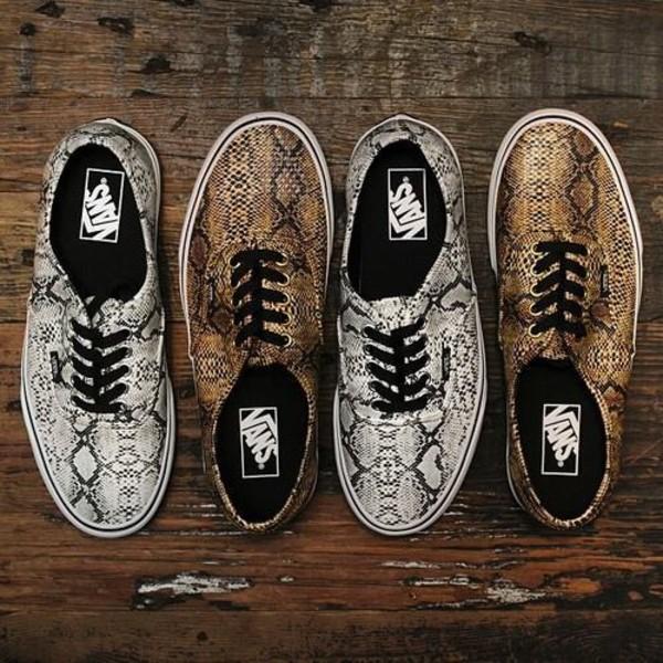shoes vans snake vans snakeskin vans silver