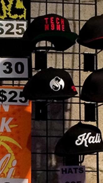 hat tech n9ne concert snapback special effects merch tour band strange music