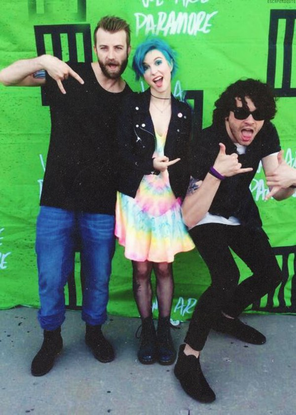 dress hayley williams paramore tie dye