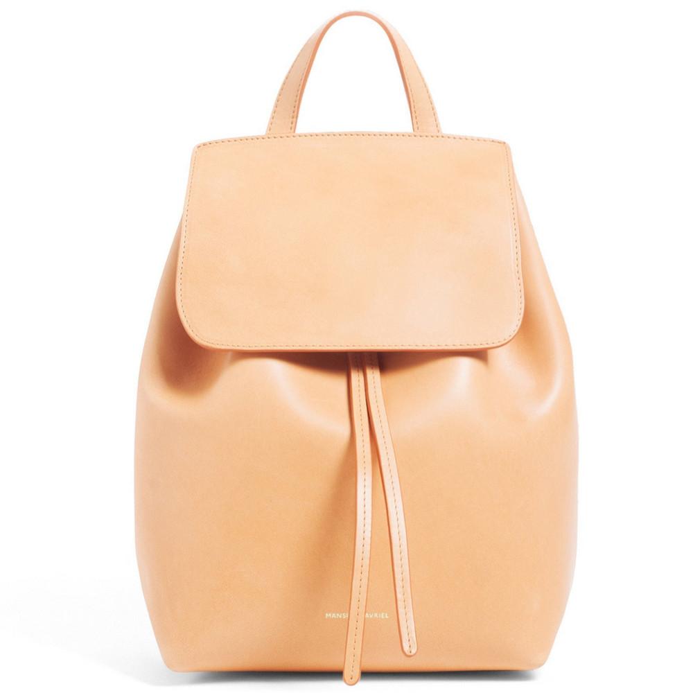 Mansur Gavriel Cammello Mini Backpack - Antico