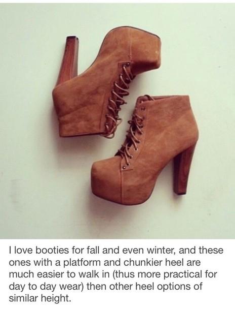 shoes platform boots
