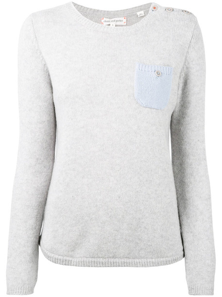Chinti & Parker sweater women grey