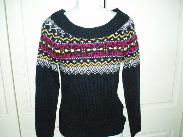 Vintage Op Ocean Pacific Nordic Ski Sweater Sz S | eBay