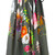 Blumarine - floral print skirt - women - Cotton/Spandex/Elastane - 44, Green, Cotton/Spandex/Elastane