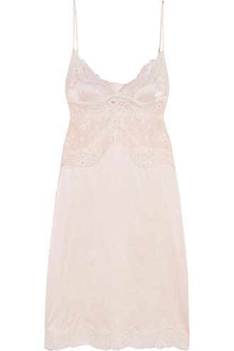 lace silk pastel pink pastel pink underwear