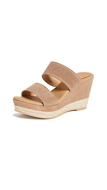 Matt Bernson wedges tan shoes